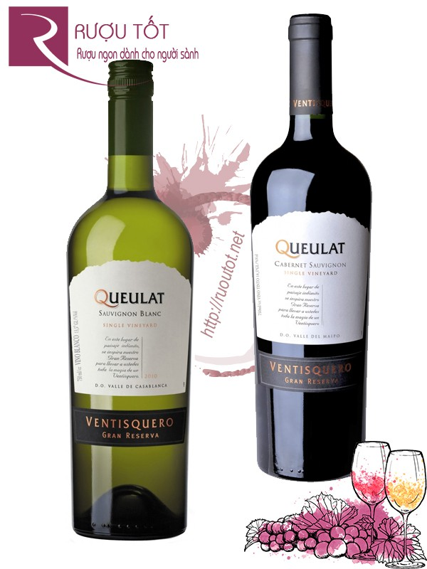 Vang Chile Queulat Gran Reserva (red-white) Thượng hạng