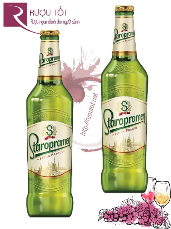 Bia Staropramen Est In Prague 330ml
