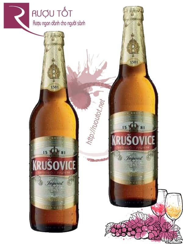 Bia Krusovice Tiệp chai 330ml