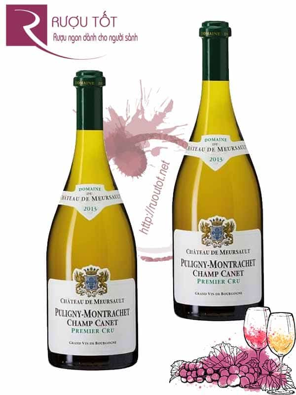 Vang Pháp Puligny Montrachet Champ Canet