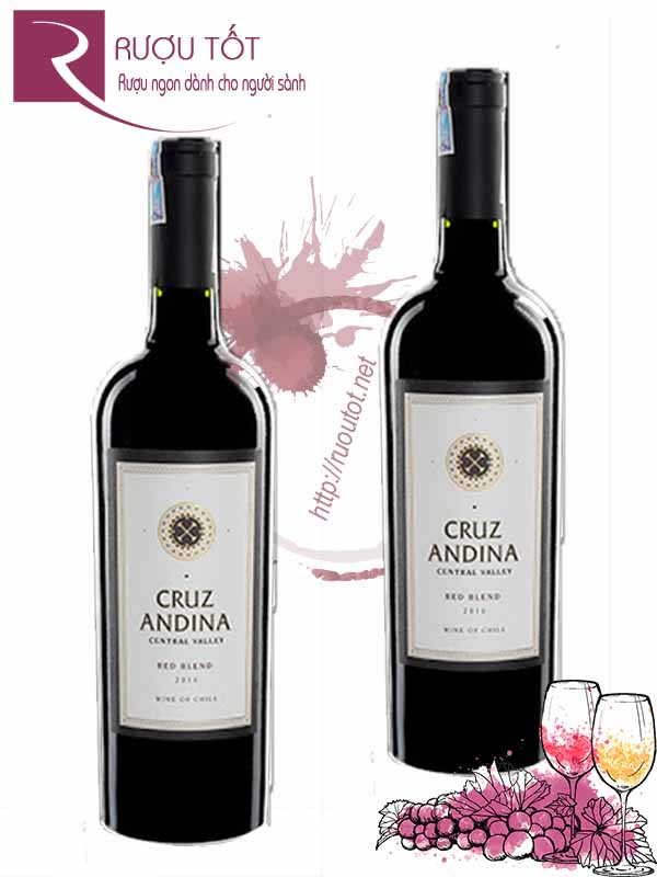 Vang Chile Cruz Andina Red Blend Cao cấp