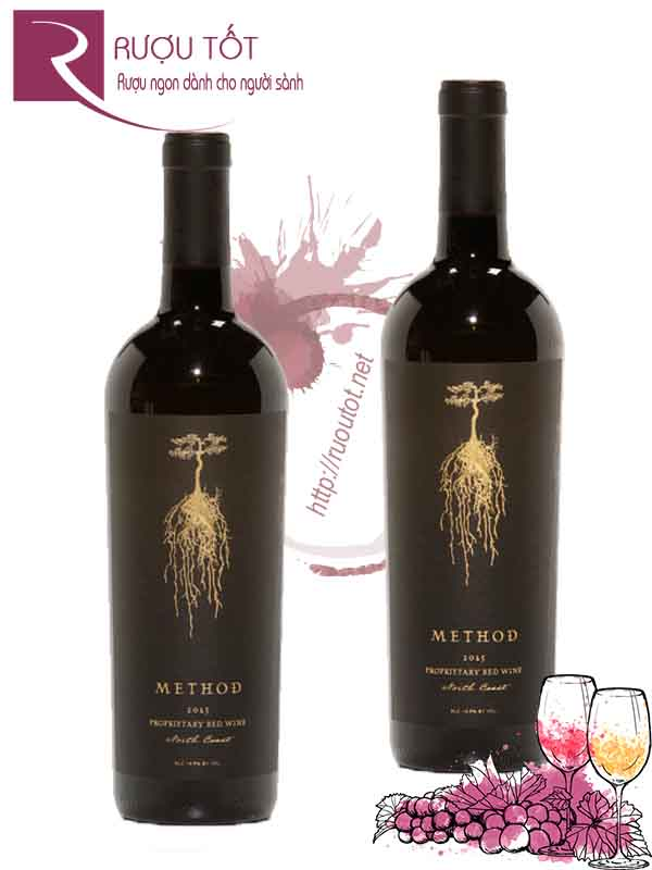 Vang Mỹ Method Proprietary Red Wine California cao cấp