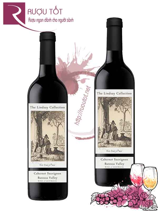 Vang Úc The Lindsay Collection His Only Pair Cabernet Sauvignon Barossa Valley