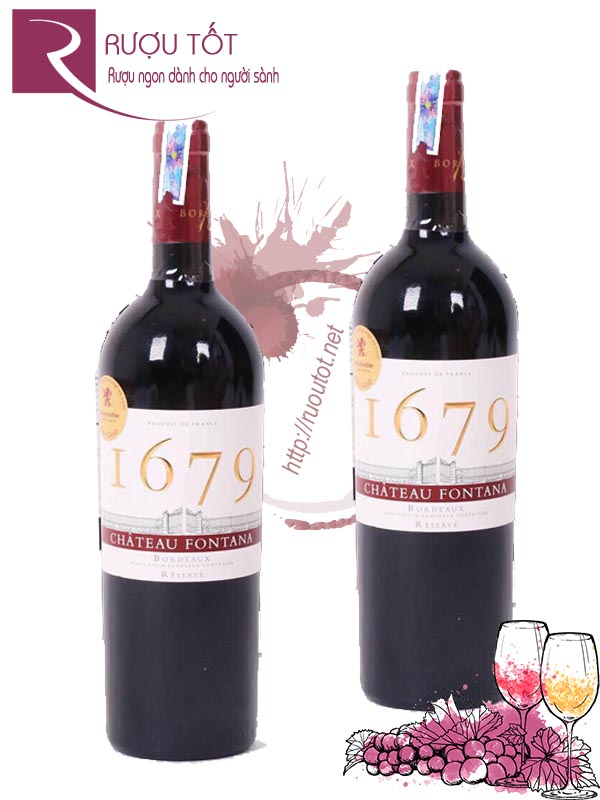 Vang Pháp I679 Bordeaux Reserve Red Cao cấp