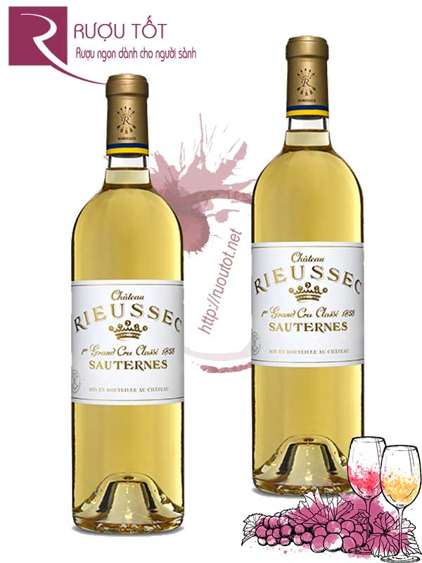 Vang Pháp Chateau Rieussec Sauternes Premier Grand Cru Classes