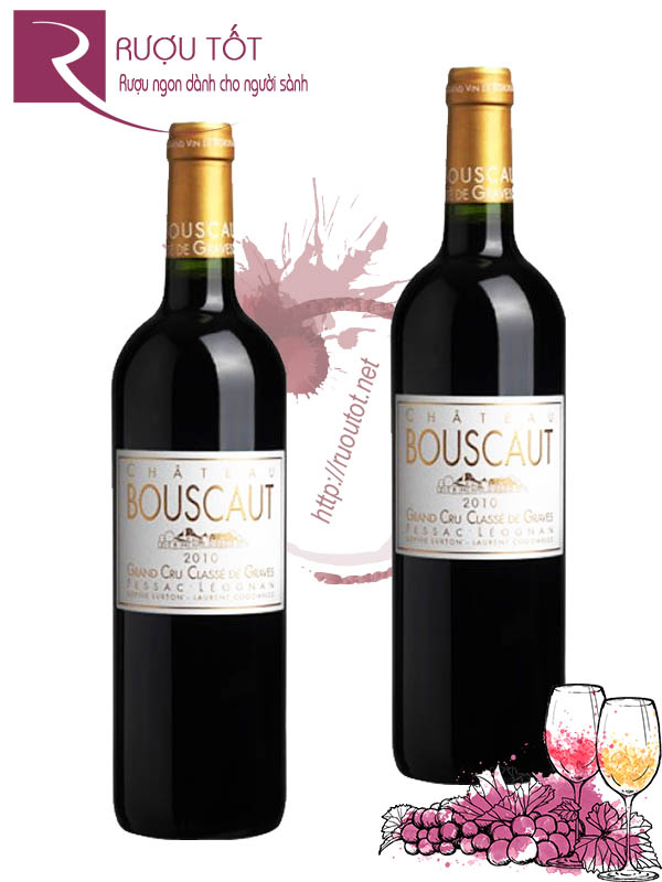 Vang Pháp Chateau Bouscaut Rouge Grand Cru Classes de Graves 94 điểm