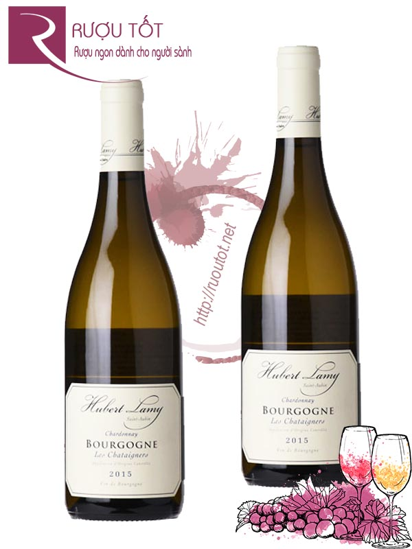 Vang Pháp Bourgogne Hubert Lamy Les Chataigniers Chardonnay