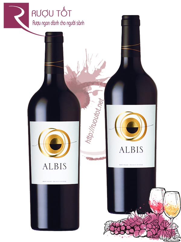 Vang Chile Albis Maipo Valley 93 điểm Cao cấp