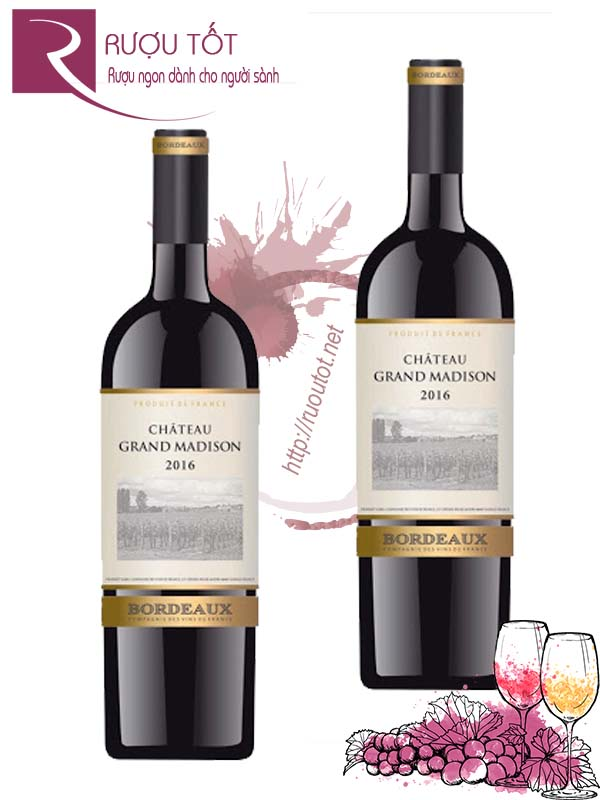 Vang Pháp Chateau Grand Madison Boudeaux Thượng hạng