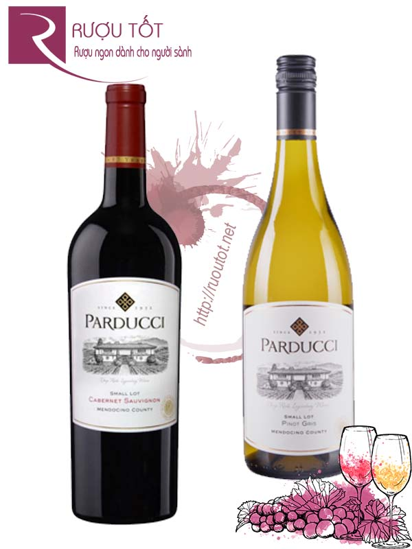 Vang Mỹ Parducci Small Lot Mendocino County Hảo hạng