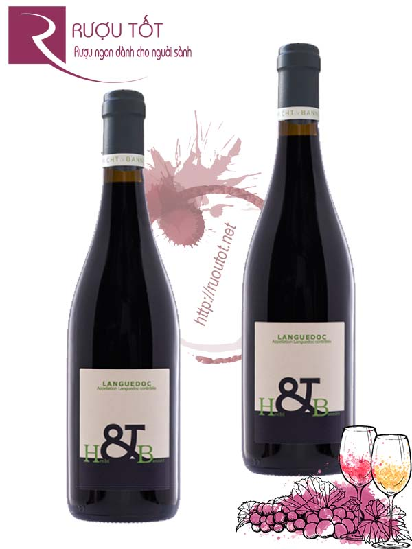 Vang Pháp Hecht & Bannier Languedoc Red Hảo hạng