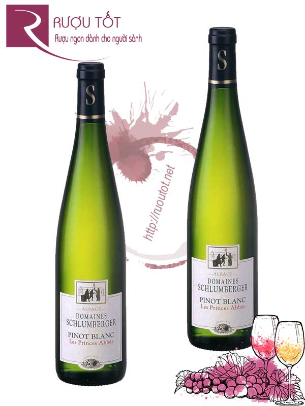 Vang Pháp Domaines Schlumberger Pinot Blanc Les Princes Abbes