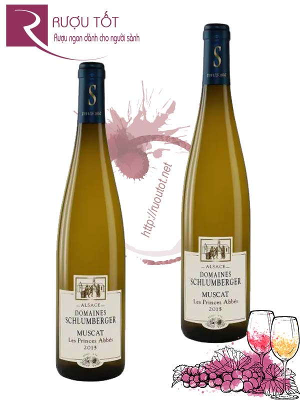 Vang Pháp Domaines Schlumberger Muscat Les Princes Abbes