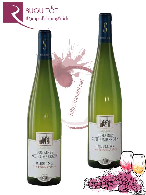 Vang Pháp Domaines Schlumberger Riesling Les Princes Abbes