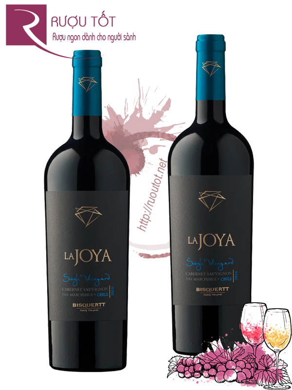 Vang Chile La Joya Single Vineyard Cabernet Sauvignon Bisquertt