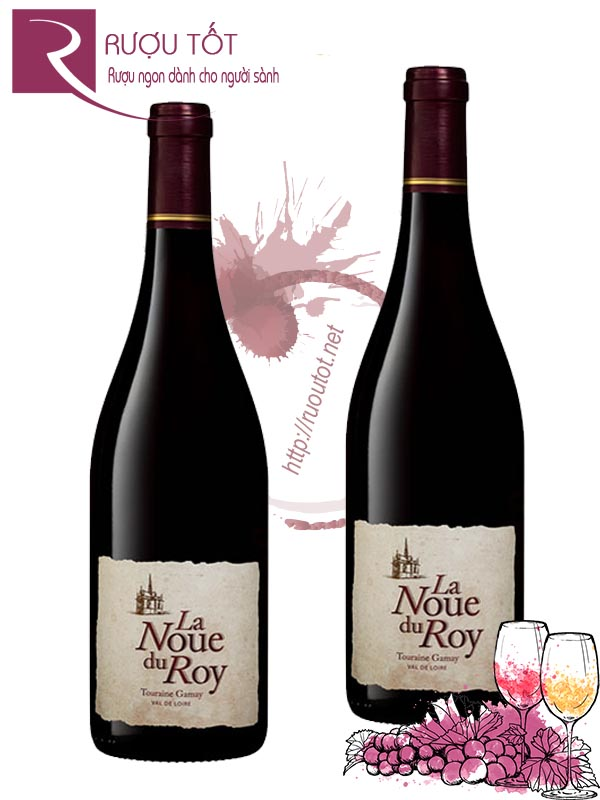 Vang Pháp La Noue Du Roy Touraine Gamay Guilbaud Freres Cao cấp