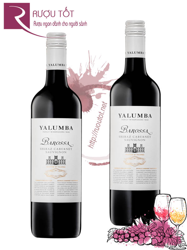 Rượu vang Yalumba Samuel Collection Barossa Shiraz Cabernet
