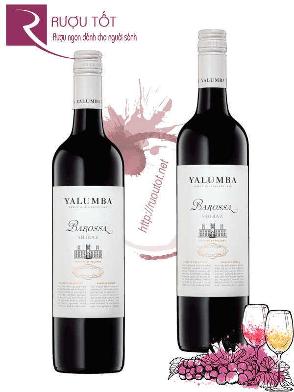 Rượu Vang Yalumba Barossa Shiraz Samuel Collection Hảo hạng