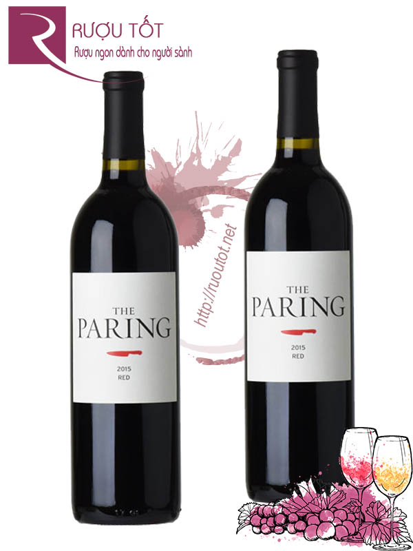 Rượu Vang The Paring Red Bordeaux Blend