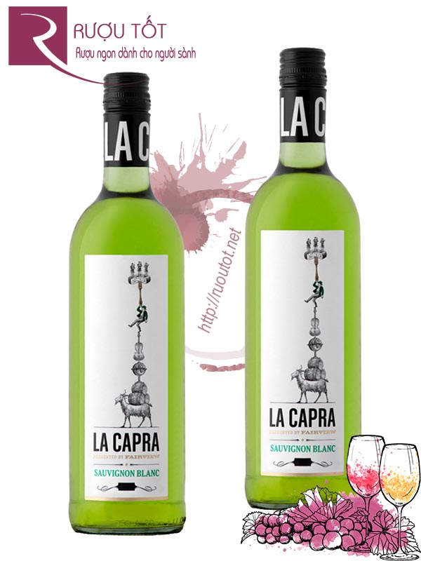 Rượu Vang La Capra Presented By Fairview Sauvignon Blanc