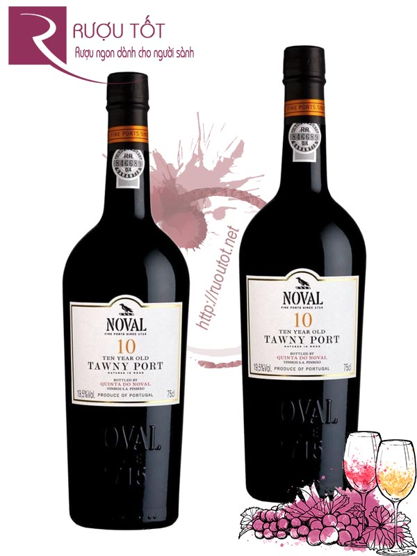 Rượu Vang Quinta do Noval 10 Years Tawny Port