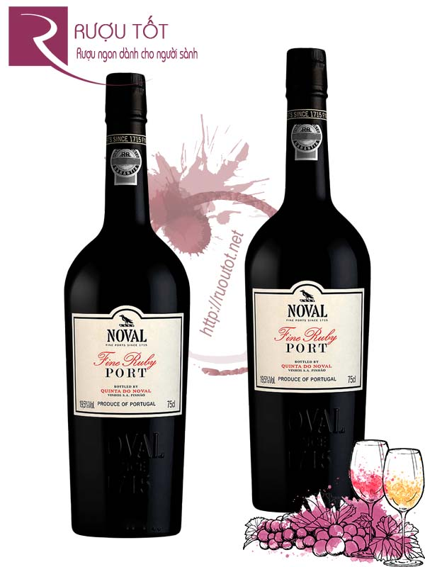 Rượu Vang Quinta do Noval Fine Ruby Port