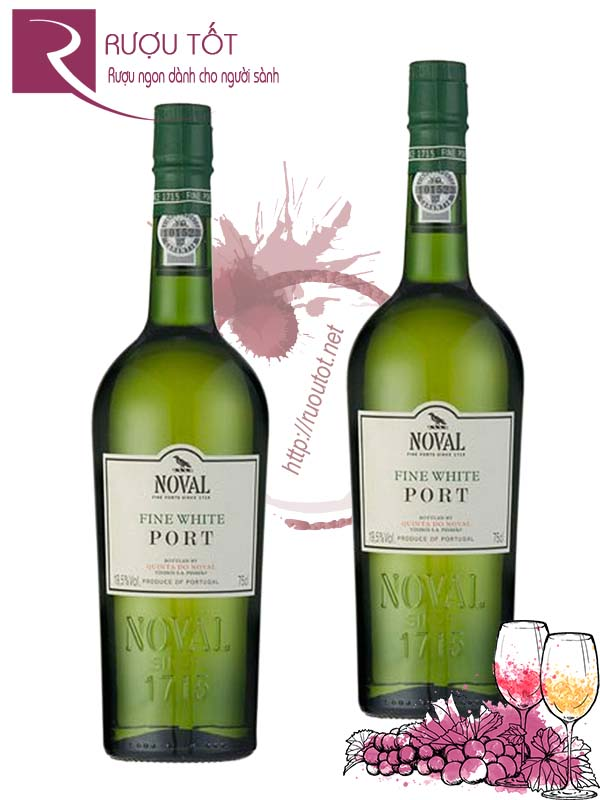 Rượu Vang Fine White Port Quinta Do Noval