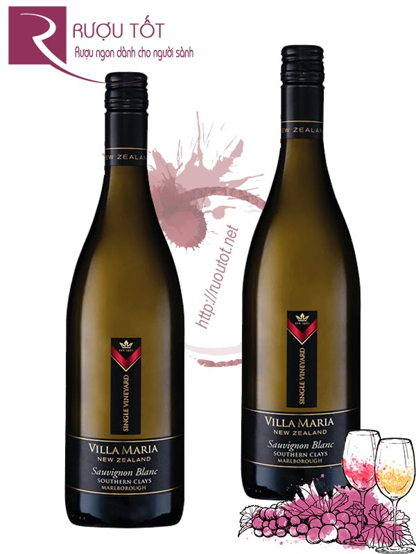 Rượu Vang Villa Maria Single Vineyard Sauvignon Blanc