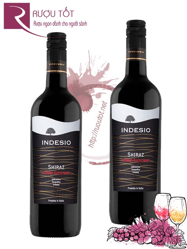 Vang Ý Indesio Shiraz