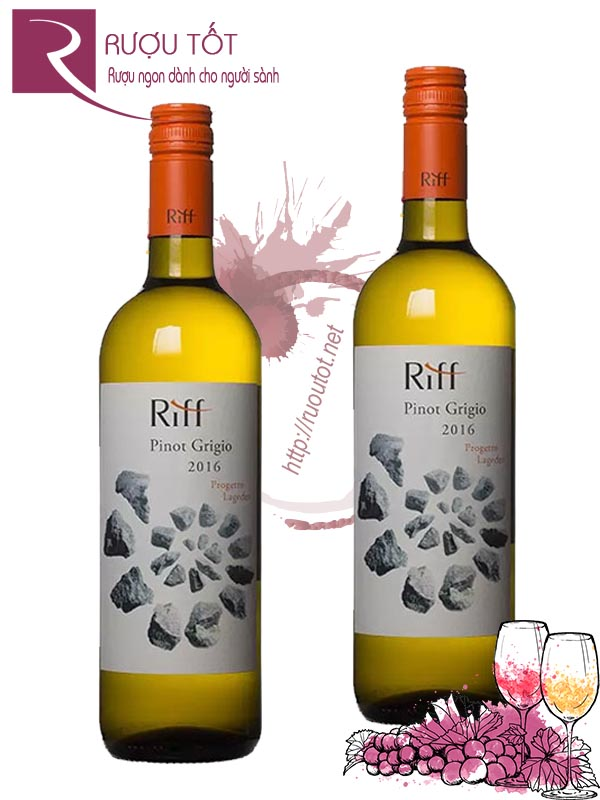 Vang Ý Riff Pinot Grigio Progetto Lageder