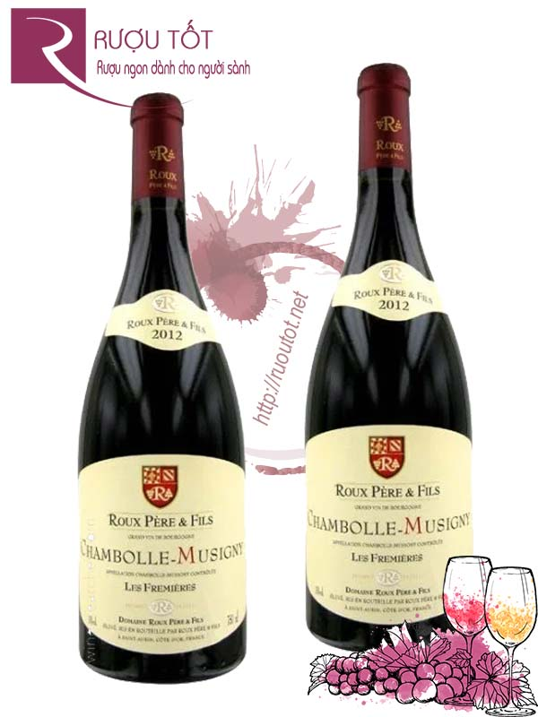 Vang Pháp Chambolle Musigny Domaine Roux