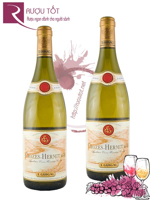 Vang Pháp Crozes Hermitage Guigal White