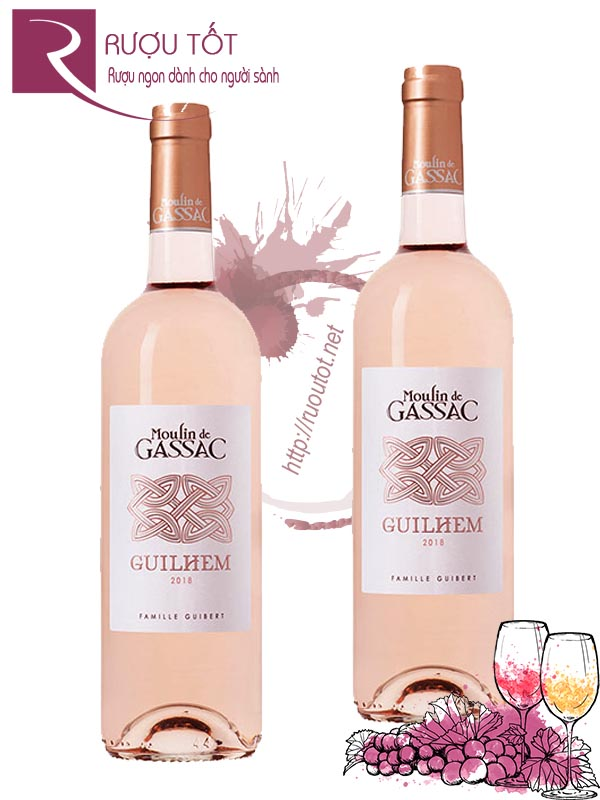 Vang Pháp Moulin de Gassac Guilhem Rose