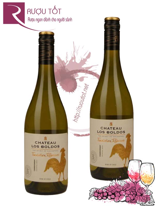 Vang Chile Chateau Tradition Reserve Chardonnay Hào hạng