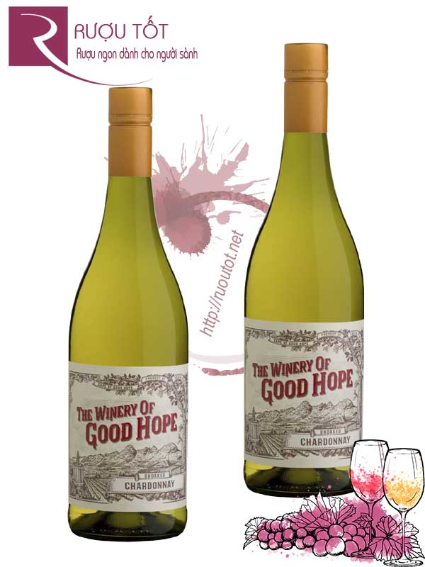 Rượu vang The Winery of Good Hope Unoaked Chardonnay Cao cấp