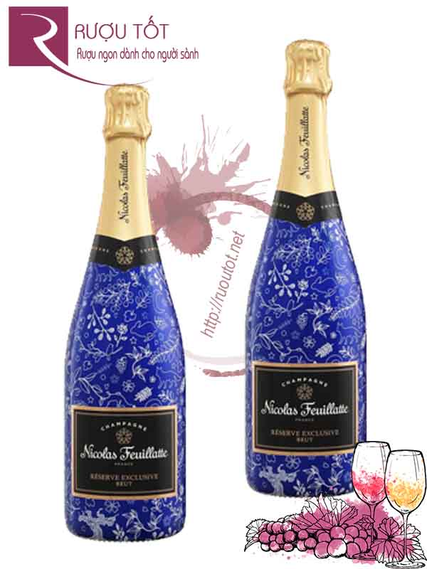 Champagne Pháp Nicolas Feuillatte Sleeve Brut Cao cấp