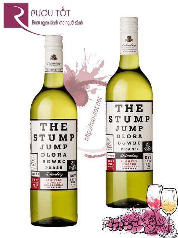 Rượu vang The Stump Jump Lightly Wooded Chardonnay Hảo hạng