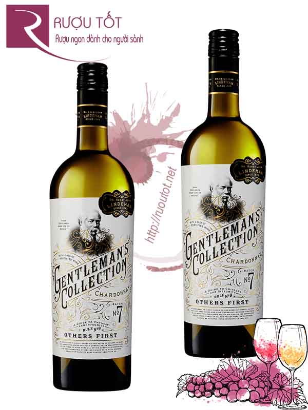 Rượu vang Gentlemans Collection Chardonnay Batch No7 Hảo hạng