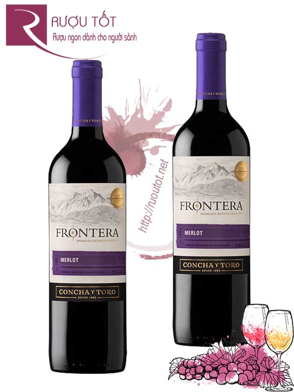 Vang Chile Frontera Merlot Concha Y Toro Central Valley Hảo hạng