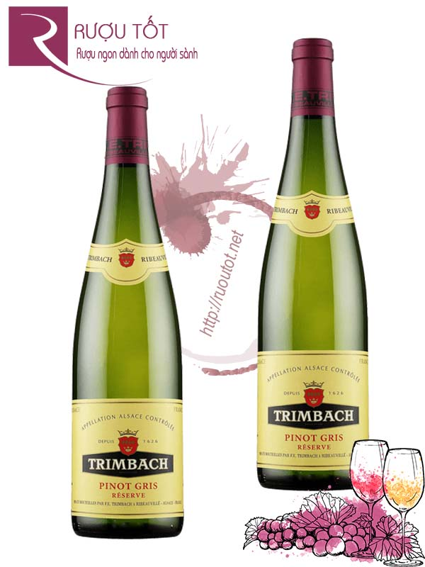 Vang Pháp Trimbach Pinot Gris Reserve Alsace Thượng hạng