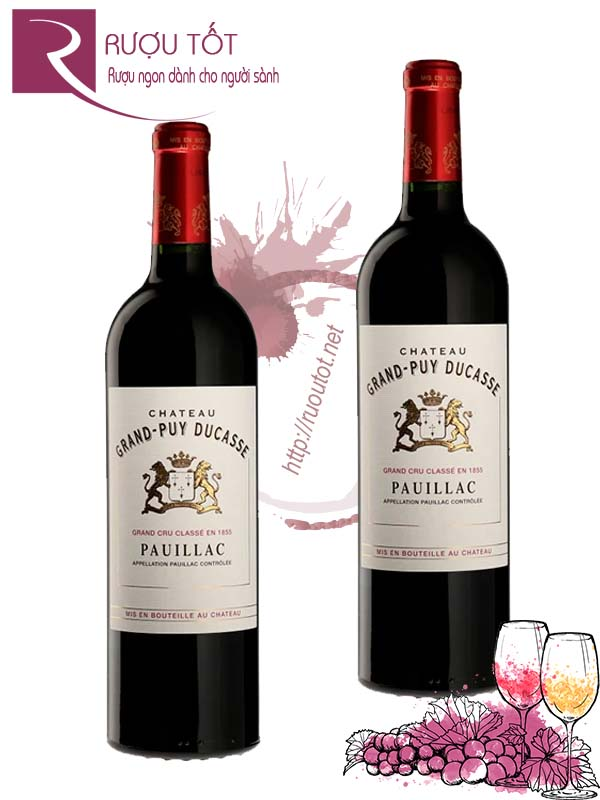 Vang Pháp Chateau Grand Puy Ducasse Pauillac Thượng hạng