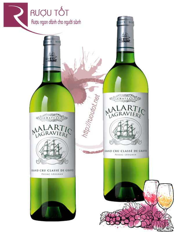Vang Pháp Chateau Malartic Lagraviere Grand Cru Classe Hảo hạng