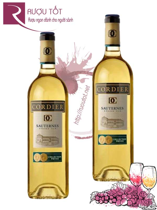 Vang Pháp Collection Privee Cordier Sauternes Thượng hạng