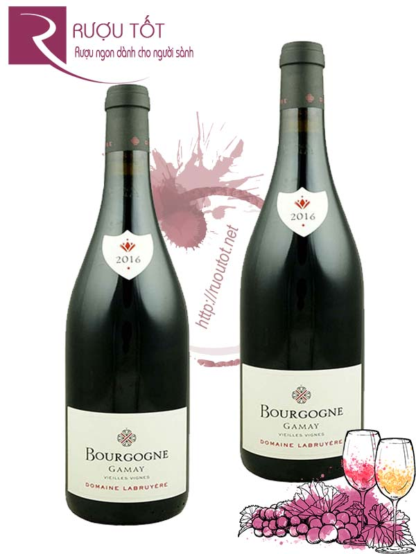 Vang Pháp Bourgogne Gamay Domaine Labruyere Thượng hạng