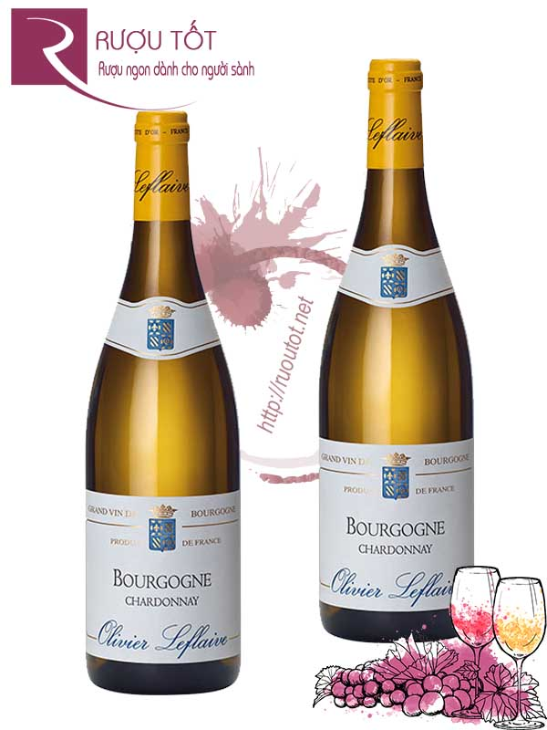 Vang Pháp Olivier Leflaive Chardonnay Bourgogne Thượng hạng