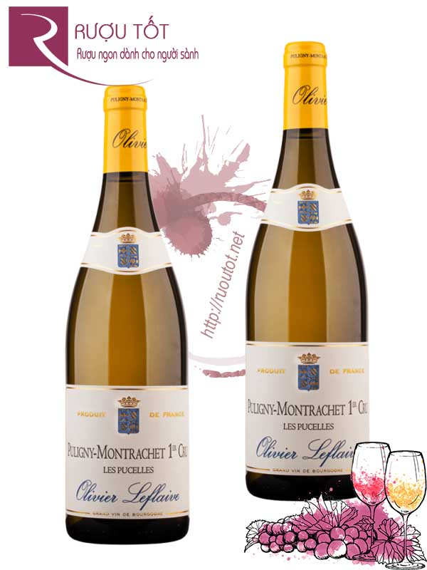 Vang Pháp Puligny Montrachet Les Pucelles Olivier Leflaive Thượng hạng