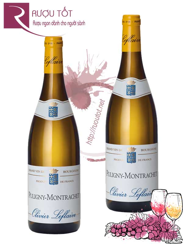 Vang Pháp Puligny Montrachet Olivier Leflaive Thượng hạng