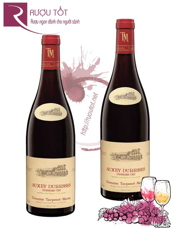 Vang Pháp Auxey Duresses Domaine Taupenot Merme Thượng hạng