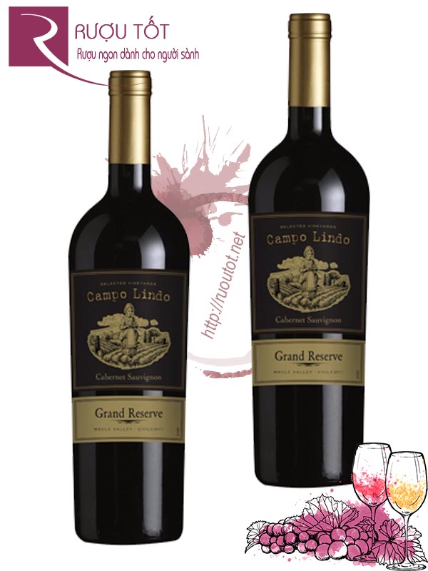 Vang Chile Campo Lindo Gran Reserva Thượng hạng