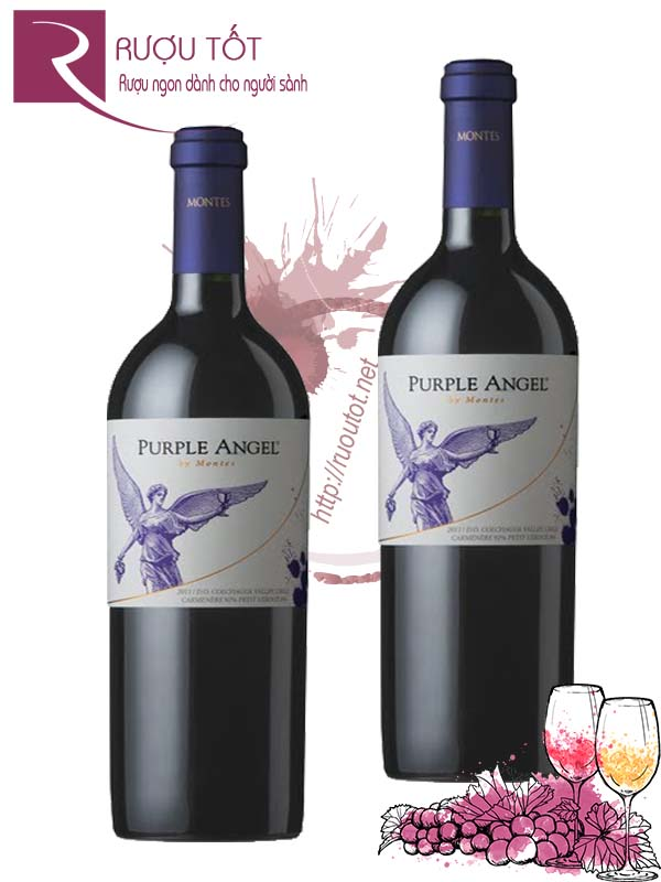 Rượu vang Montes Purple Angel 1500ml
